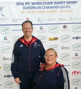 Paula and Gary Team GB