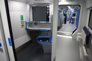 Accessible train toilet