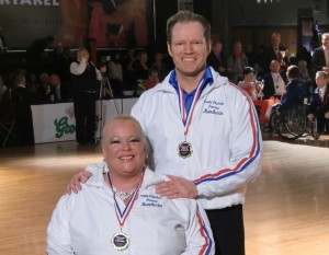 Gold Medal for Paula and Gary