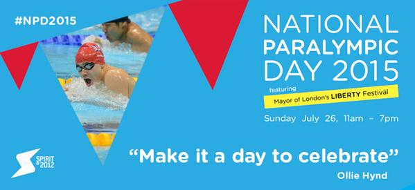 National Paralympic Day 2015