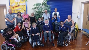 Wheelchair Dance Workshop Group