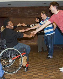 Wheelchair Dance Class