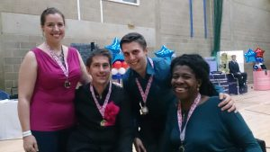 UK National Championship Debutante Medal Winners