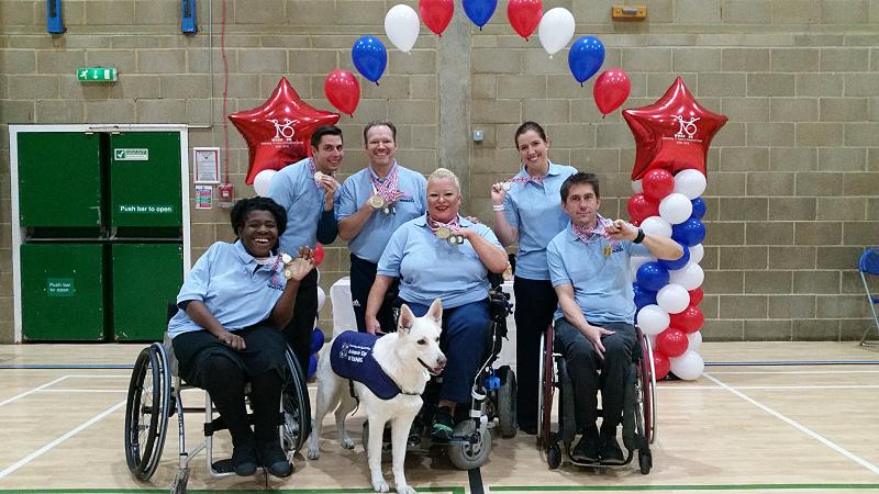 Wheelchair Dance Class Members