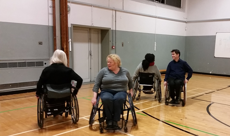 Wheelchair Dance Class