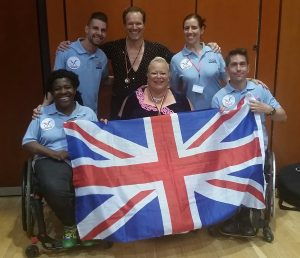 Team GB at the Mainhatten Cup 2017