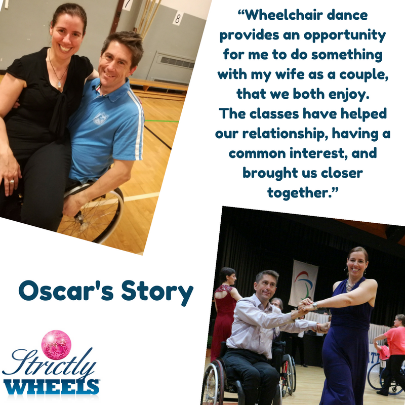 Meet Oscar Wheelchair Dancer