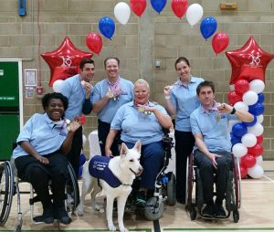 Dancers at the UK National Para Dance Sport Championship