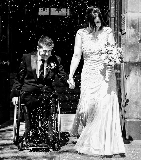 Wheelchair Wedding Dance