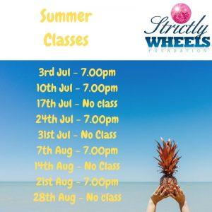 Summer Class Times 2019